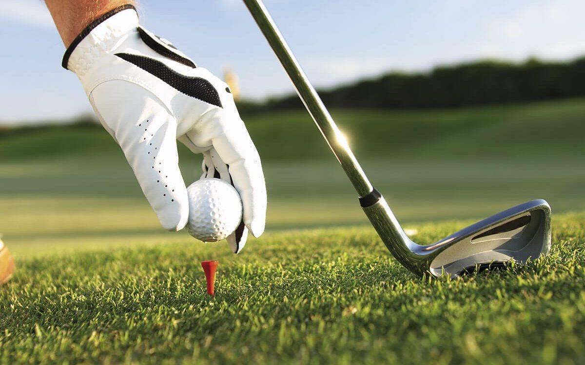 Golfball Nahaufnahme