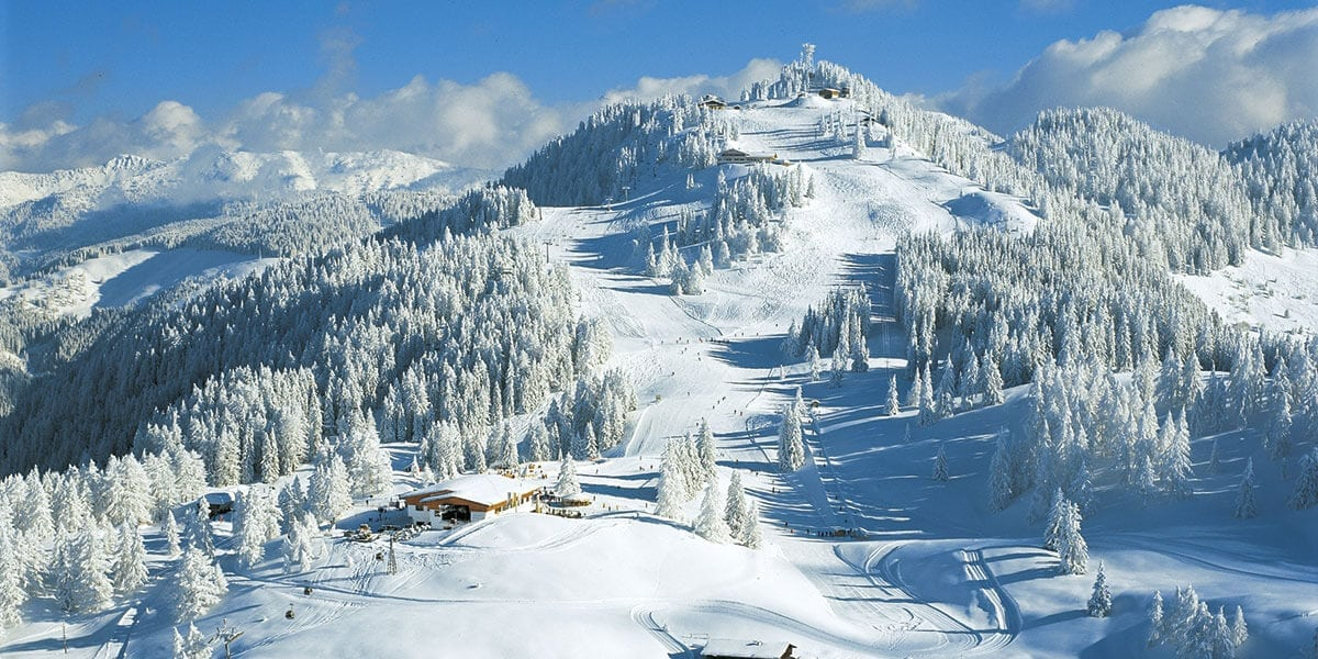 Skigebiet Piste