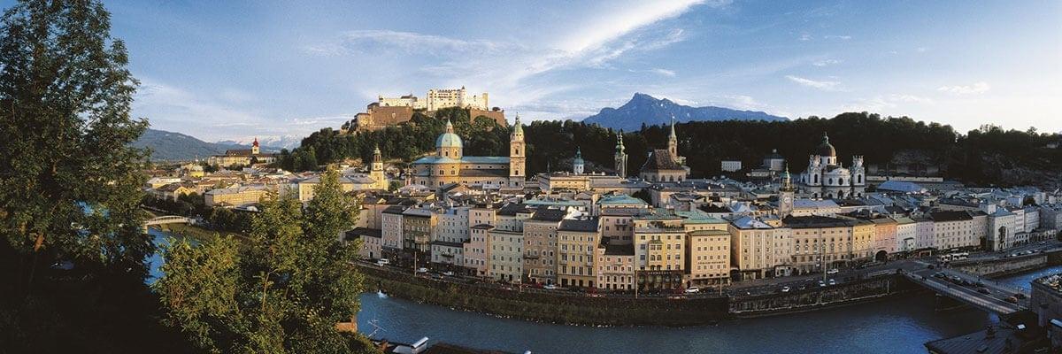 Ausflugsziel Stadtansicht Salzburg
