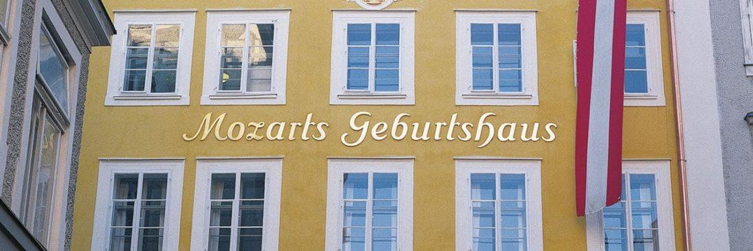 Ausflugsziel Mozarts Geburtshaus