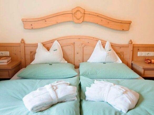 Ferienwohnung Doppelbett