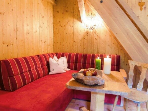 Innenansicht Ferienwohnung Couch