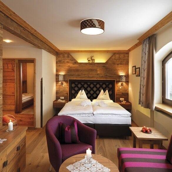 Modernes Hotelzimmer Gut Berg