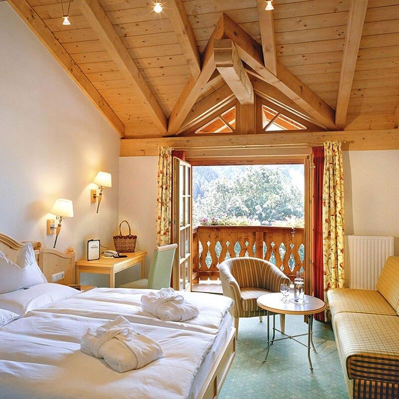 Schlafzimmer Hotel Gut Berg