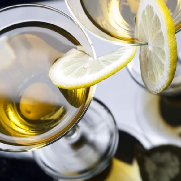 Drink mit Zitrone