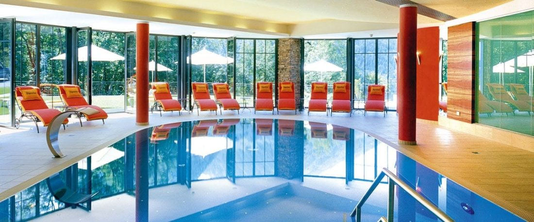 Indoor Schwimmbad Gut Berg